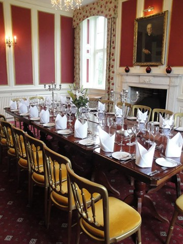 Shapwick House - Private Dining